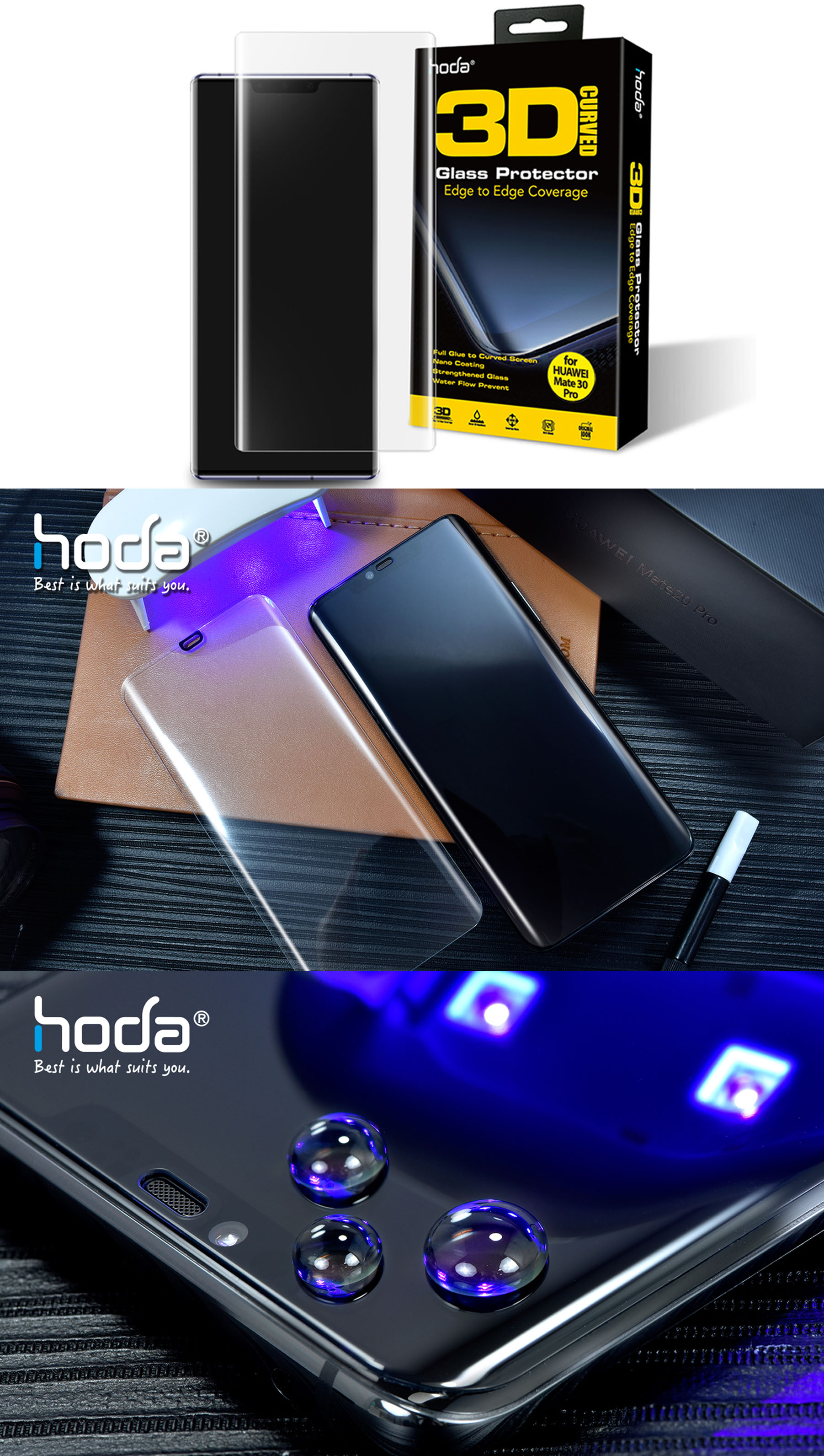 /hoda/4713381515068/1-des-fx-hoda-tempered-glass-huawei-mate-30-pro-3d-uv-screen-protector-screen-protector-clear-4713381515068-malaysia-authorised-retailer