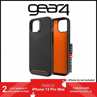 """Gear 4 Denali for iPhone 13 Pro Max 6.7"""" 5G - Black (Barcode: 840056146679 )"""