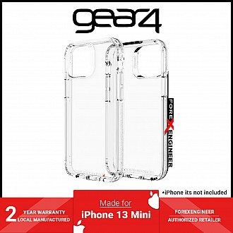 """Gear4 Crystal Palace for iPhone 13 Mini 5.4"""" 5G - Clear (Barcode: 840056146471 )"""