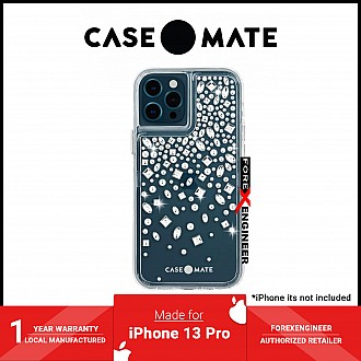 """Case-Mate Karat Crystal for iPhone 13 Pro  6.1"""" 5G with Antimicrobial  (Barcode: 840171706703 )"""
