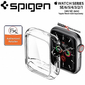 Spigen Ultra Hybrid for Apple Watch 44/42mm Series SE/6/5/4/3/2/1-  Crystal Clear (Barcode : 8809685622932 )