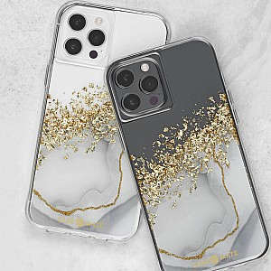 """Case-Mate Karat Marble for iPhone 13 Pro  6.1"""" 5G with Antimicrobial  (Barcode: 840171706697 )"""