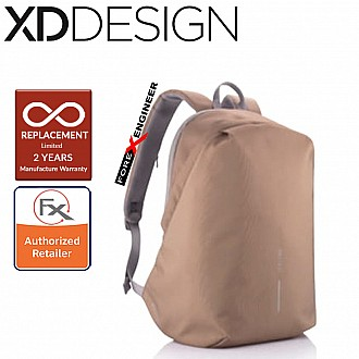 XD Design Bobby Softpack Anti-Theft Backpack - Khaki Color ( Barcode : 252824 )