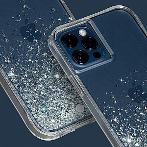 """Case-Mate Twinkle Ombre for iPhone 13 Pro Max 6.7"""" 5G with Antimicrobial - Stardust (Barcode: 840171706215)"""