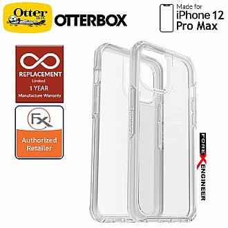 """Otterbox Symmetry Clear for iPhone 12 Pro Max 5G 6.7"""" - Clear (Barcode : 840104216385 )"""