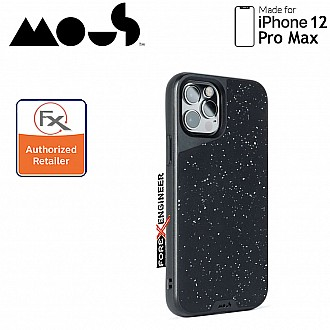 """Mous Limitless 3.0 for iPhone 12 Pro Max 5G 6.7"""" - Air Shock High Impact Material Case -  Speckled Leather (Barcode : 5060624483950 )"""