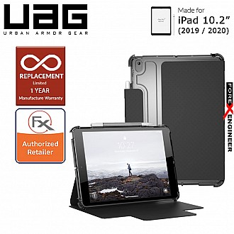 "UAG [U] Lucent for iPad 10.2"" (2020) / 10.2 inch 7th Gen ( 2019 )  - Black/Ice Color (Barcode : 812451037845 )"
