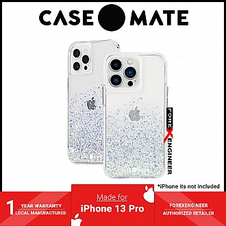 """Case-Mate Twinkle Ombre for iPhone 13 Pro 6.1"""" 5G with Antimicrobial - Stardust (Barcode: 840171706666 )"""