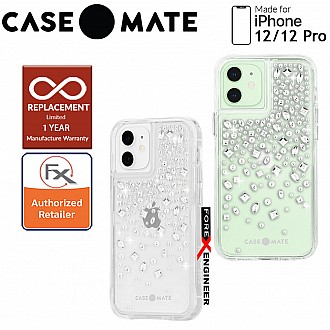 """Case Mate Karat Crystal with MicroPel for iPhone 12 / 12 Pro  5G 6.1"""" (Barcode: 846127196130 )"""