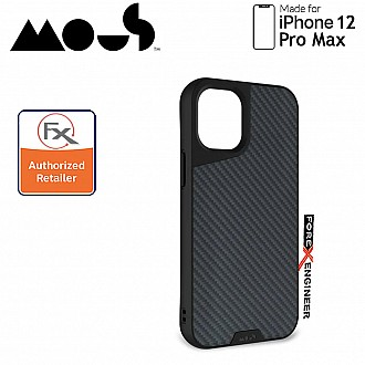 """Mous Limitless 3.0 for iPhone 12 Pro Max 5G 6.7"""" - Air Shock High Impact Material Case - Aramid Carbon Fibre (Barcode : 5060624483912 )"""