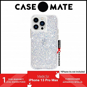 """Case-Mate Twinkle for iPhone 13 Pro Max 6.7"""" 5G with Antimicrobial - Stardust (Barcode: 840171706192 )"""