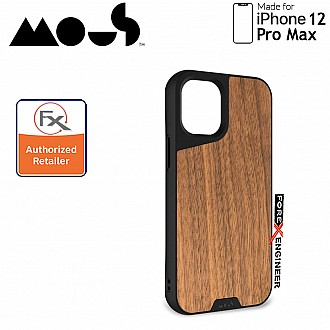"""Mous Limitless 3.0 for iPhone 12 Pro Max 5G 6.7"""" - Air Shock High Impact Material Case -  Walnut (Barcode : 5060624483929 )"""