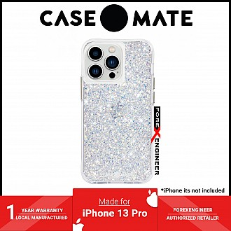 """Case-Mate Twinkle for iPhone 13 Pro 6.1"""" 5G with Antimicrobial - Stardust (Barcode: 840171706642 )"""