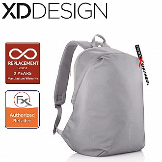 XD Design Bobby Softpack Anti-Theft Backpack - Grey Color ( Barcode : 252822 )