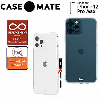 """Case Mate Tough Clear for iPhone 12 Pro Max 5G 6.7"""" - Clear with MicroPel (Barcode: 846127195812 )"""