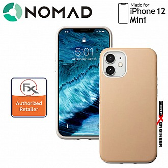 """Nomad Rugged Case for iPhone 12 Mini 5G 5.4"""" - Natural ( Barcode : 856500019437 )"""