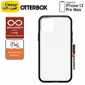 """Otterbox React for iPhone 12 Pro Max 5G 6.7"""" - Black Crystal (Barcode : 840104225028 )"""