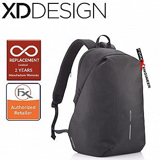 XD Design Bobby Softpack Anti-Theft Backpack - Black Color ( Barcode : 252821 )