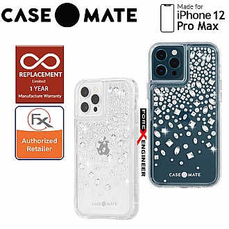 """Case Mate Karat Crystal with MicroPel for iPhone 12 Pro Max 5G 6.7"""" (Barcode: 846127195782 )"""