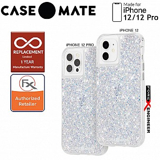 """Case Mate Twinkle Crystal with MicroPel for iPhone 12 / 12 Pro  5G 6.1"""" - Stardust (Barcode: 846127196208 )"""