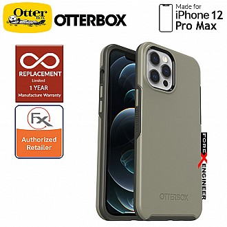"""Otterbox Symmetry for iPhone 12 Pro Max 5G 6.7"""" - Earl Grey Color (Barcode: 840104216316 )"""