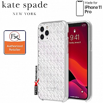 Kate Spade Protective Hardshell for iPhone 11 Pro ( Spade Flower ) ( Barcode : 191058102508 )