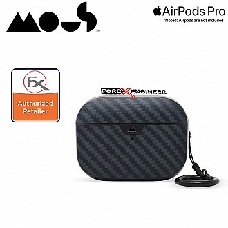Mous for Airpods Pro Case - Comes with Carabiner Keychain - Real Aramid Fibre ( Barcode : 5060624484377 )