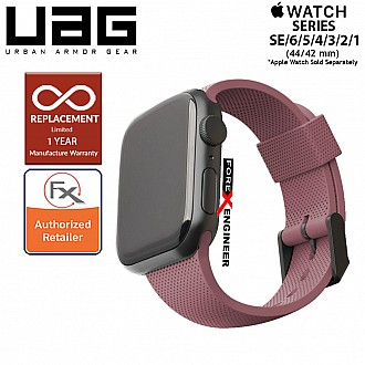UAG Silicone Strap for Apple Watch 44mm / 42mm Compatible for Series SE / 6 / 5 / 4 / 3 / 2 / 1 - Dusty Rose (Barcode : 812451036329 )