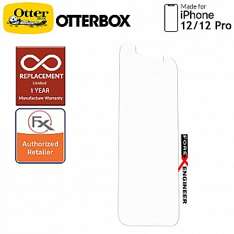 """OTTERBOX ALPHA GLASS 2D for iPhone 12 / iPhone 12 Pro 5G 6.1"""" - Clear (Barcode 840104215869 )"""