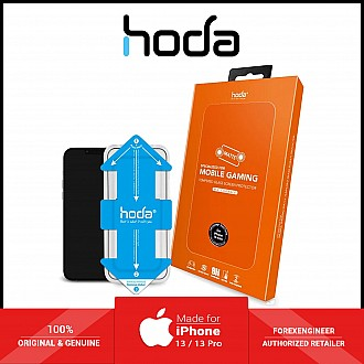 """Hoda Tempered Glass for iPhone 13 / 13 Pro 6.1"""" 5G ( 2.5D 0.33mm Full Coverage ) - with Helper - Matte (Barcode: 4711103541982 )"""