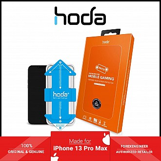 """Hoda Tempered Glass for iPhone 13 Pro Max  6.7"""" 5G ( 2.5D 0.33mm Full Coverage ) - with Helper - Matte (Barcode: 4711103541999 )"""