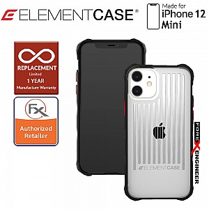 """Element Case Special Ops for Iphone 12 Mini 5G 5.4"""" - Clear Colour (Barcode : 810046111376 )"""