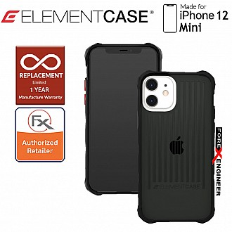"""Element Case Special Ops for Iphone 12 Mini 5G 5.4"""" - Black Colour (Barcode : 810046111468 )"""
