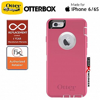 OtterBox Defender Series for iPhone 6 / 6s ( Hibiscus Frost ) ( Barcode : 660543383260 )