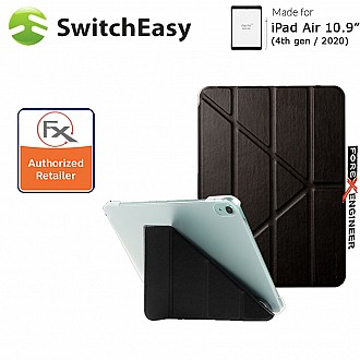 """SwitchEasy Origami for iPad Air 10.9"""" (2020) - Black Color (Barcode : 4897094568471 )"""