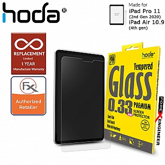 """Hoda Tempered Glass (Notch) for iPad Pro 11""""/ iPad Air 10.9"""" -2.5D 0.33mm Full Coverage Screen Protector - Clear (Barcode : 4713381516522 )"""