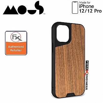"""Mous Limitless 3.0 for iPhone 12 / 12 Pro 5G 6.1"""" - Air Shock High Impact Material Case -  Walnut (Barcode : 5060624483875 )"""