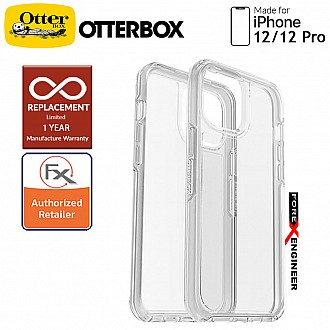"""Otterbox Symmetry Clear for iPhone 12 / 12 Pro 5G 6.1"""" - Clear  (Barcode : 840104215890 )"""