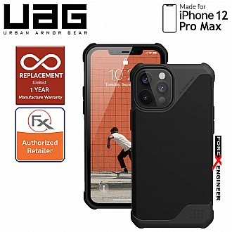 "UAG Metropolis LT for iPhone 12 Pro Max 5G 6.7"" - ( PU Black )  ( Barcode : 812451037340 )"
