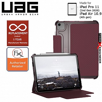 """UAG [U] Lucent for iPad Air 10.9"""" (2020) / iPad Pro 11 2020 (2nd Gen) - Aubergine/ Dusty Rose Color (Barcode : 812451038279 )"""