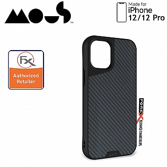 """Mous Limitless 3.0 for iPhone 12 / 12 Pro 5G 6.1"""" - Air Shock High Impact Material Case -  Aramid Carbon Fibre (Barcode : 5060624483868 )"""