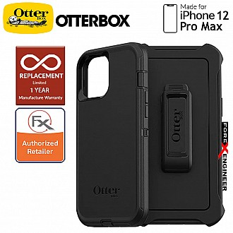 """Otterbox Defender for iPhone 12 Pro Max 5G 6.7"""" - Black ( Barcode : 840104216170 )"""