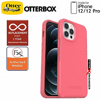 """Otterbox Symmetry Plus with MagSafe iPhone 12 / 12 Pro 5G 6.1"""" - Tea Petal Color (Barcode: 840104230299 )"""