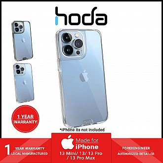 """Hoda Crystal Pro Glass Case for iPhone 13 6.1"""" 5G - Military Standard Case - Clear (Barcode: 4711103541562 )"""