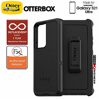 OtterBox Defender for  Samsung Galaxy S21 Ultra 5G -  Black (Barcode : 840104239384 )