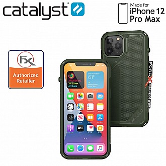 """Catalyst Vibe for iPhone 12 Pro Max 5G 6.7"""" - Army Green (Barcode : 840625106707 )"""