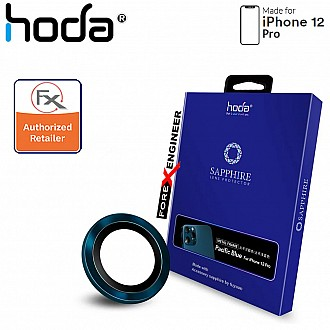 Hoda Sapphire Lens Protector for iPhone 12 Pro - 3 pcs - Pacific Blue (Barcode : 4713381519691 )