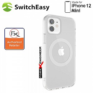 """SwitchEasy MagEasy for iPhone 12 Mini 5G 5.4"""" - Silver  (Barcode : 4897094568891 )"""