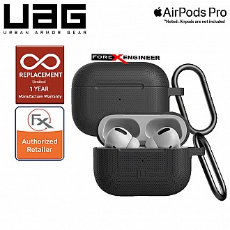 UAG [ U ] Silicone Case for AirPods Pro - Black color ( Barcode: 812451036381 )