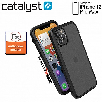 """Catalyst Influence for iPhone 12 Pro Max 5G 6.7"""" - Stealth Black (Barcode : 840625111398)"""